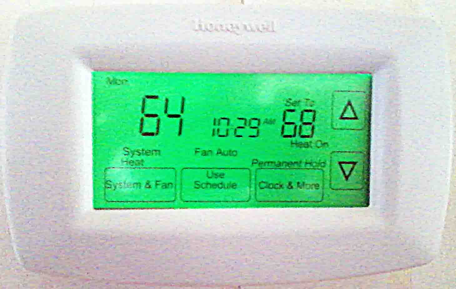 Honeywell Thermostat Rth7600 Wiring Diagram : Honeywell rth d day programmable thermostat review