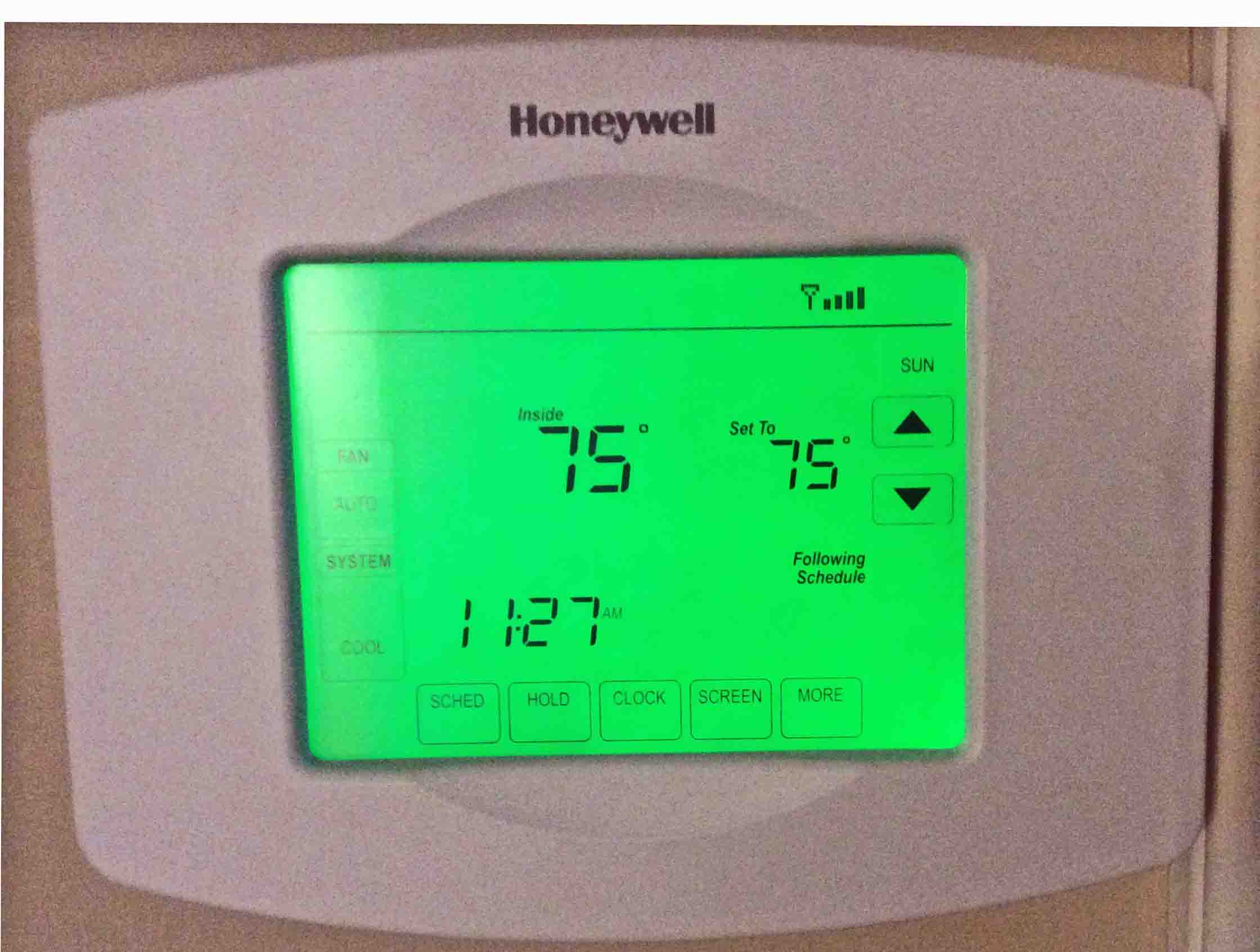Honeywell 7 Day Wifi Thermostat Manual Chronotherm Iv Plus User