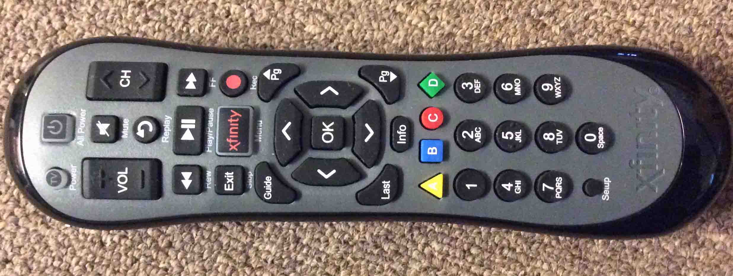 Xr2 Remote Control Xfinity U2 Review Tom S Tek Stop