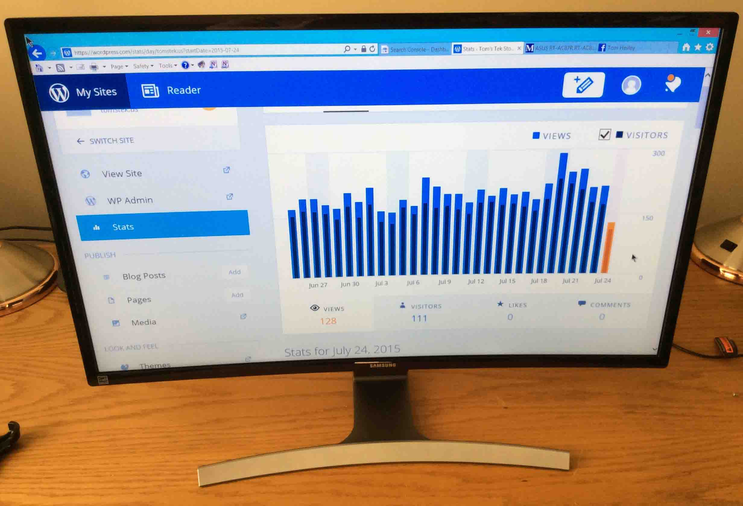 Samsung 27 Inch Curved Monitor Review Tom S Tek Stop