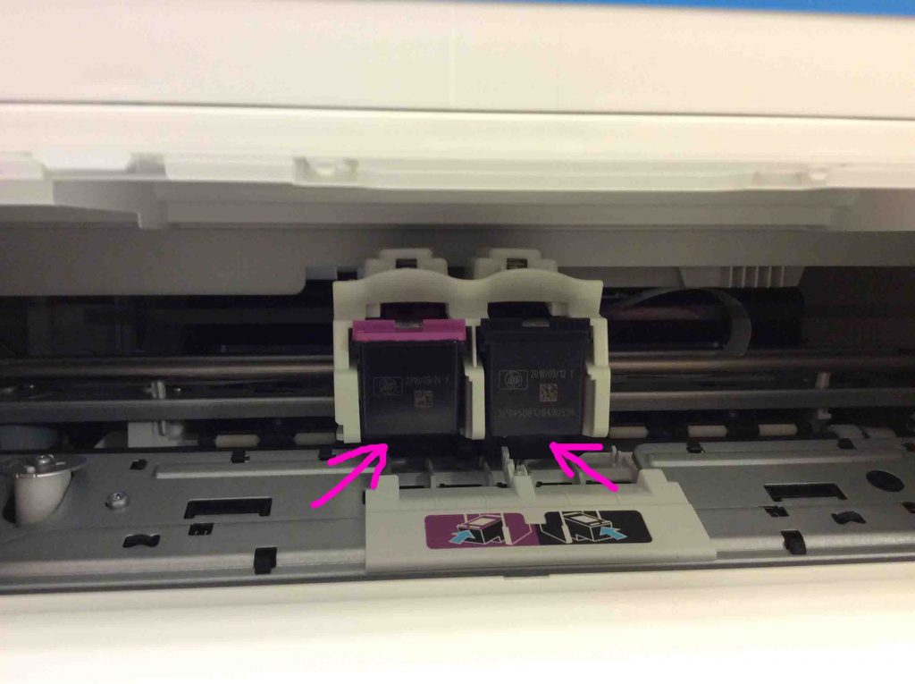 How to Replace Empty Ink Cartridges in HP 3630 Series ...