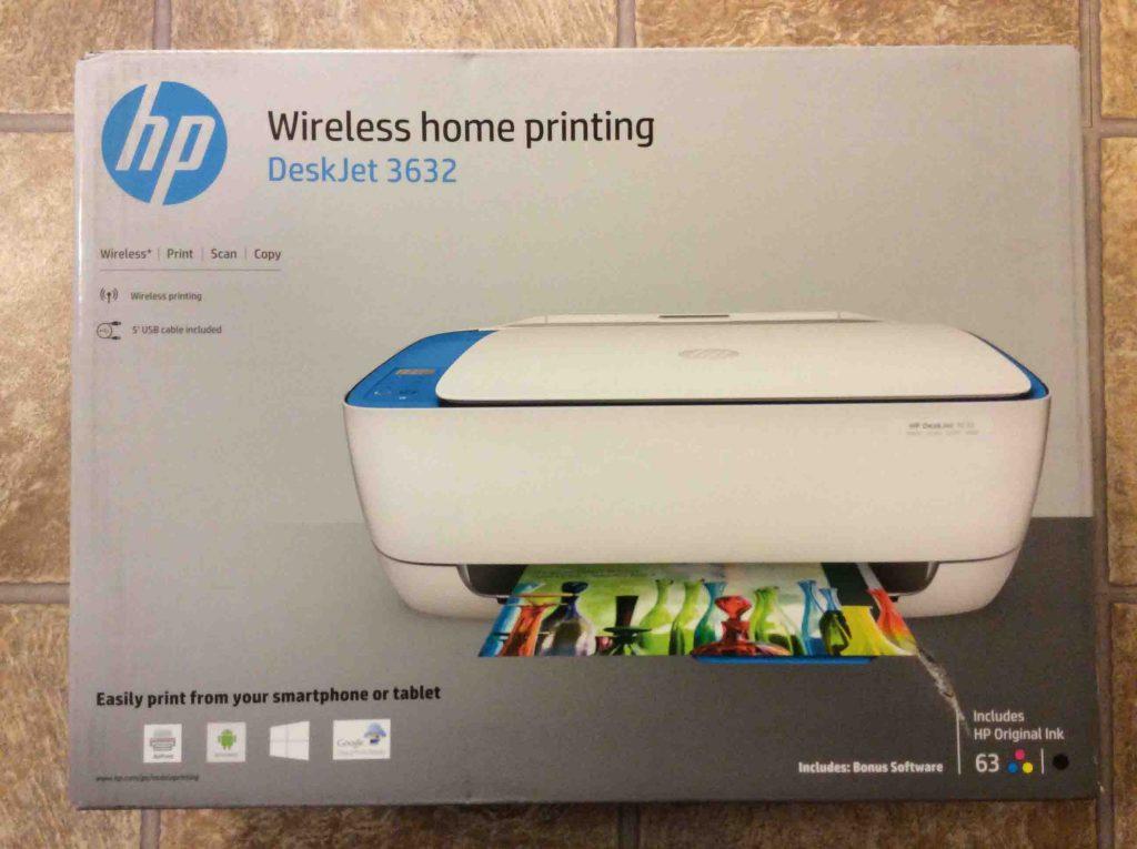 Unboxing Hp Deskjet 3632 Printer How To Tom S Tek Stop
