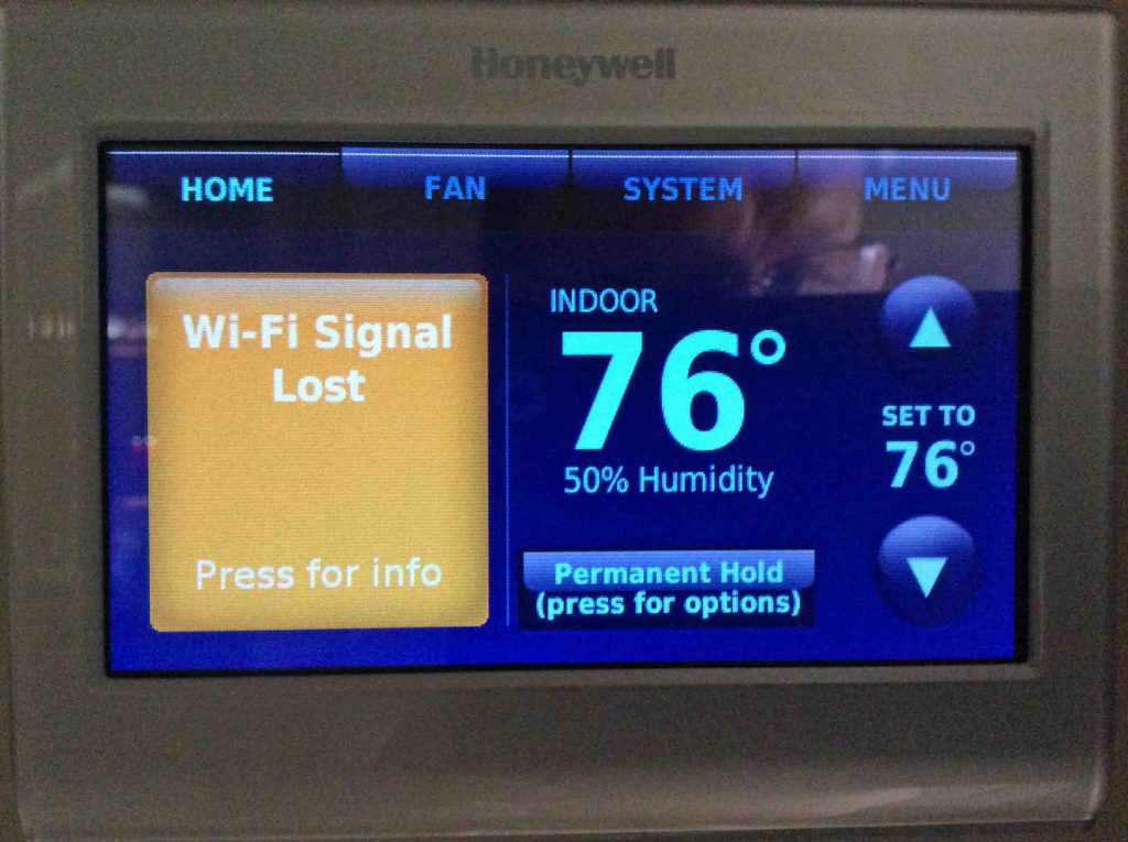 Solving Honeywell Wifi Thermostat Connection Problems